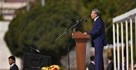 Празднование 25-летия независимости Кыргызстана в Бишкеке