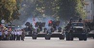 Военный парад в Бишкеке. Архивное фото