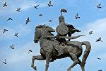 Бишкектеги Манас эстелигинин архивдик сүрөтү