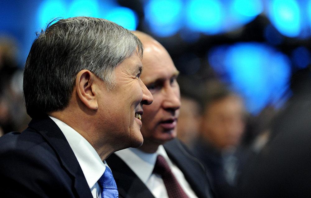 2012-жыл. Путин Бишкекке келген