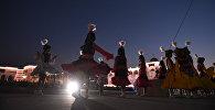 Концерт на площади Ала-Тоо в Бишкеке. Архивное фото
