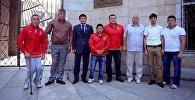 Паралимпийская сборная Кыргызстана. Архивное фото