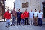 Кыргызстандын паралимпиада спортчулары. Архивдик сүрөт