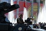 Военнослужащие армии КР во время парада. Архивное фото