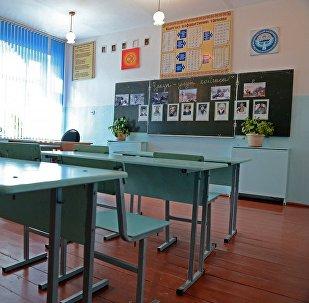 Мектептеги класс. Архивдик сүрөт