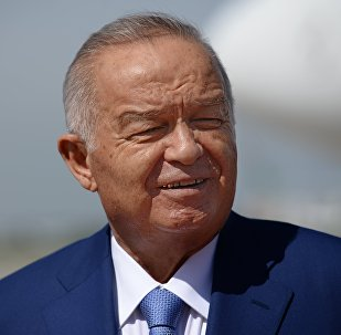 Прилет президента Узбекистана Ислама Каримова в Москву