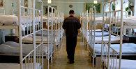 Заключенный в спальне исправительной колонии №3 в Уфе. Архивное фото