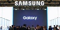Стенд компании Samsung на выставке. Архивное фото
