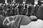 Панихида по покойному лидеру Китая Мао Цзэдуну