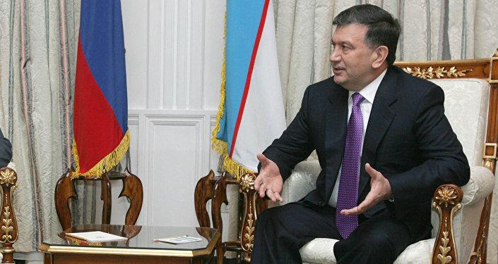 Өзбекстандын президентинин милдетин аткаруучу Шавкат Мирзиеевдин архивдик сүрөтү