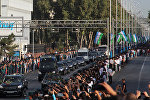 Траурная процессия президента Узбекистана Ислама Каримова