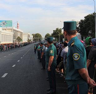 Сотрудники органы внутренних дел. Архивное фото