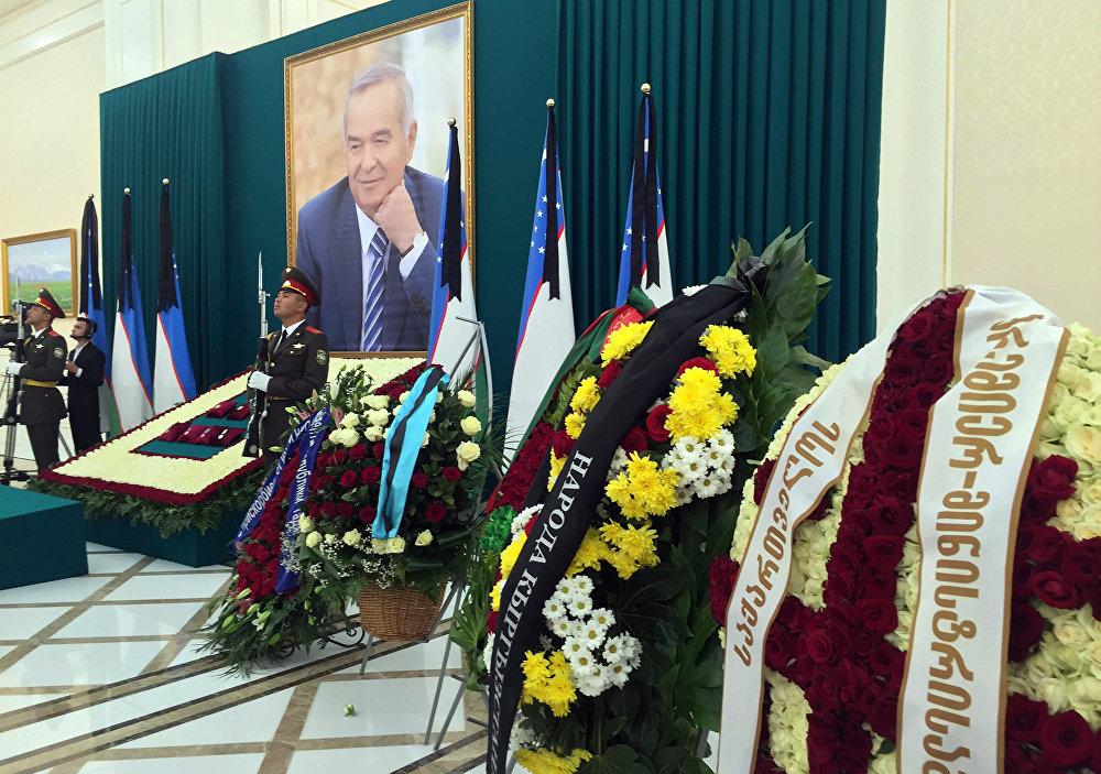 Каримовдун дүйнө салгандыгына байланыштуу анын үй-бүлөсүнө жана өзбек элине Кыргызстандын атынан көңүл айтылды