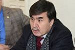 Председатель Национальной ассоциации политологов Таджикистана Абдугани Мамадазимов. Архивное фото