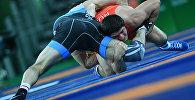 Соревнования по вольной борьбе. Архивное фото