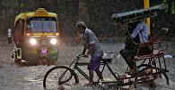 Последствия муссонных дождей в столице Индии Нью-Дели. Архивное фото