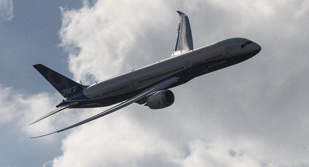 Пассажирский самолет Boeing 787-9 Dreamliner. Архивное фото