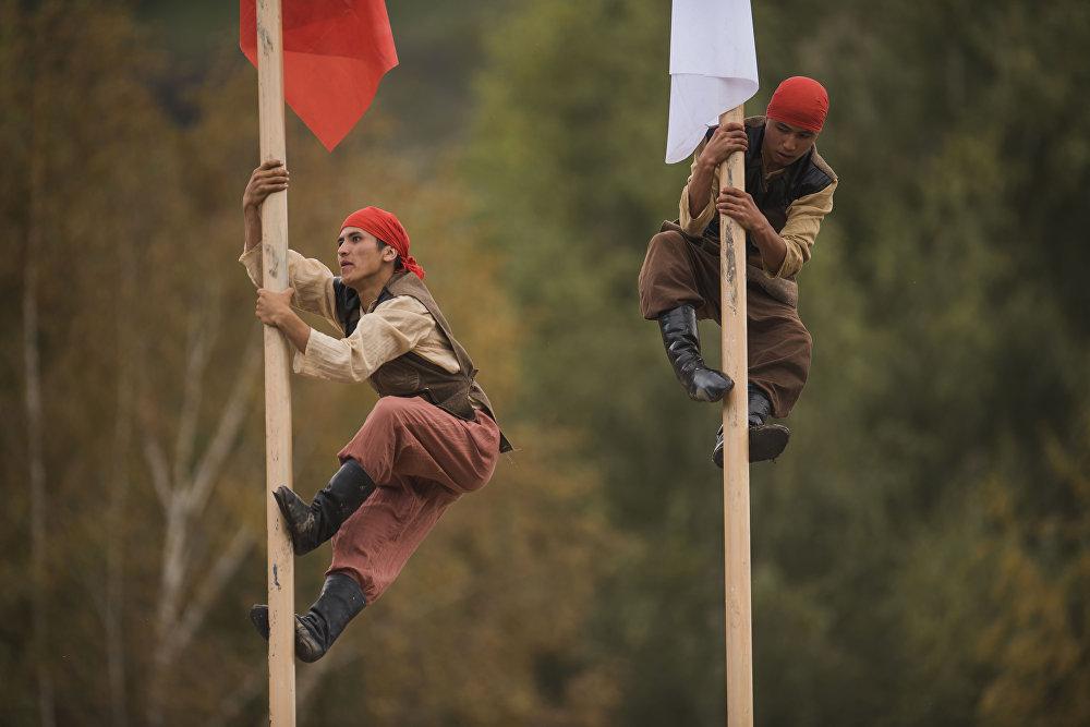 Культурные мероприятия в рамках Всемирных игр кочевников на джайлоо Кырчын