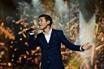 Кыргызстандын атынан Жаңы толкун-2016 эл аралык музыкалык конкурска катышып жаткан ырчы Нурсултан Азыкбаев