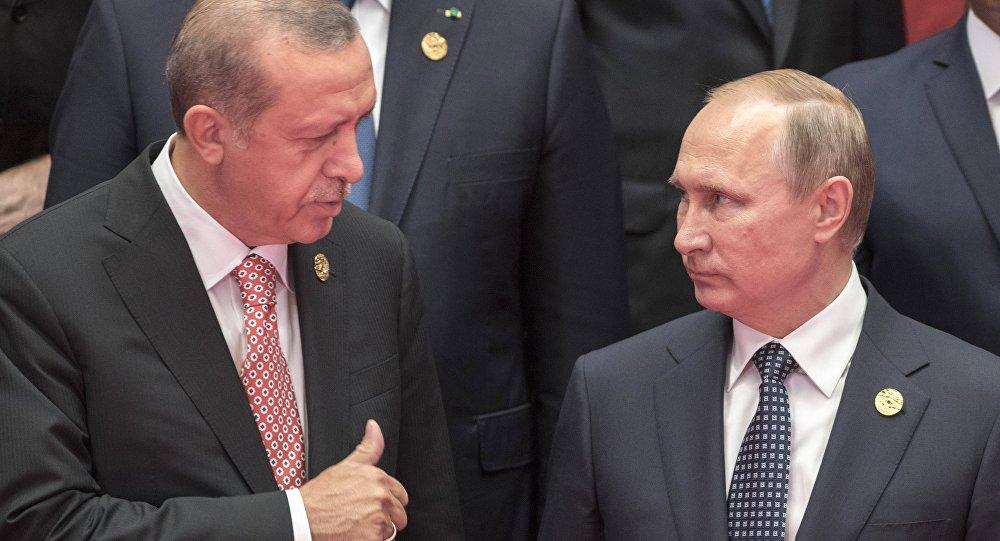 Путин иЭрдоган провели «доверительный» разговор врамках G20
