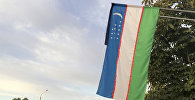 Узбекистан желеги. Архив