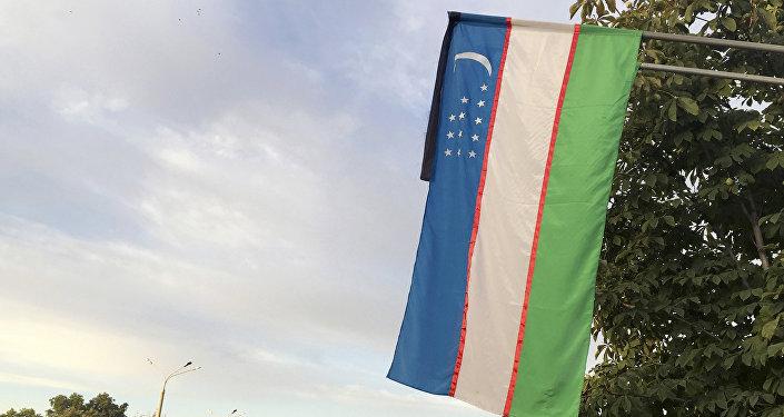 Өзбекстандын желеги. Архив