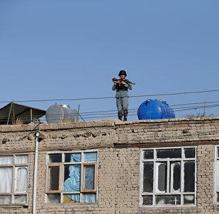 Афганистандын полиция кызматкеринин архивдик сүрөтү
