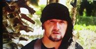 Кадр из видеоролика, в котором Гулмурод Халимов заявил о присоединении к ИГ. Архивное фото