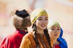 Красавицы на Вторых всемирных играх кочевников