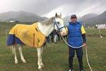 Большие скачки на дистанции в 80 километров в рамках II Всемирных игр кочевников