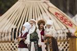 II Дүйнөлүк көчмөндөр оюндарынын алкагында Кырчын жайлоосунда уюштурулган Көчмөндөр ааламы фестивалы