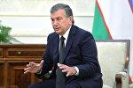 Өзбекстандын премьер-министри Шавкат Мирзиеев. Архив