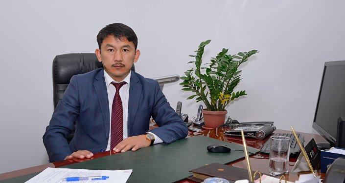 Экс-глава Фонда госимущества КР Болсунбек Казаков. Архивное фото