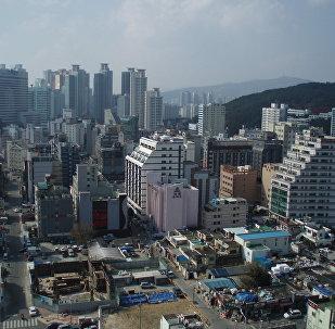 Южнокорейский город Пусан. Архивное фото