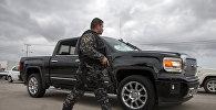 Сотрудник мексиканской полиции. Архивное фото