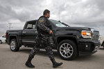 Мексика полиция кызматкери. Архив