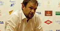 Главный тренер национальной сборной Александр Крестинин после матча с командой Филиппин.