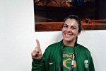 Бразилиялык спортчу Кейла Сиувва. Архив