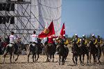 Кыргызстан менен Кытай командаларынын Жирит оюну боюнча беттеши