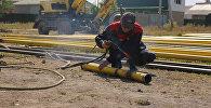Бишкектин алты конушун газ менен камсыздоо иши активдүү жүрүп жатат