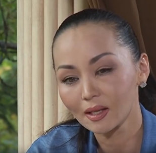 Первое видео-интервью Баян Есентаевой после избиения мужем