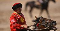 Кыргызстандын көк-бөрү боюнча курама командасынын оюнчусу. Архив