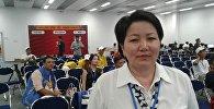 Архивное фото официального представителя Министерства иностранных дел КР Айымкан Кулукеевой