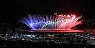 Фейерверки осветили небо над Рио-де-Жанейро на открытии Паралимпиады