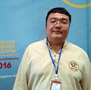 Руководитель Штаба по проведению Всемирных игр кочевников Бакыт Дозоев.