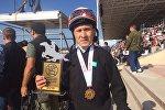 Казахстанский наездник Эдиль Хусейинов