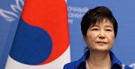 Архивное фото президента Южной Кореи Пак Кын Хе