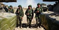 Военные учения ШОС. Архивное фото