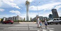 Монумент Астана-Байтерек в центре Астаны. Архивное фото