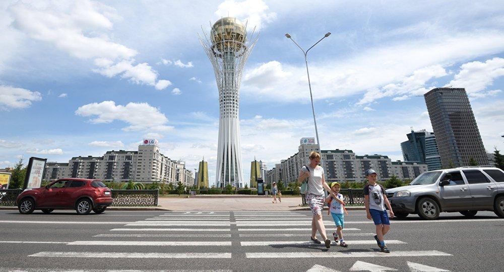 Астана шаары. Архивдик сүрөт